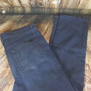 Joe's Jean's dark blue wash denim 32 x 27